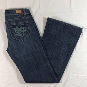 PAIGE Robertson wide leg stretch jeans sz. 27